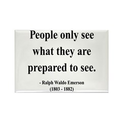 Ralph Waldo Emerson 20 Rectangle Magnet (100 pack)