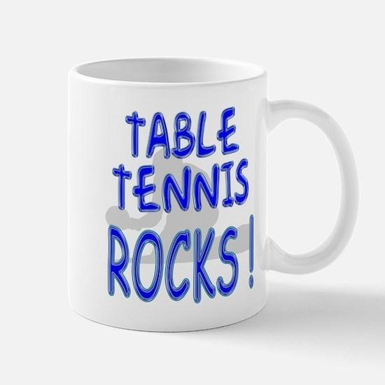 Table Tennis Rocks ! Mug