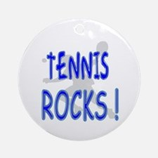 Tennis Rocks ! Ornament (Round)