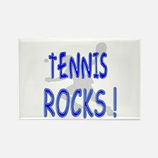 Tennis Rocks ! Rectangle Magnet