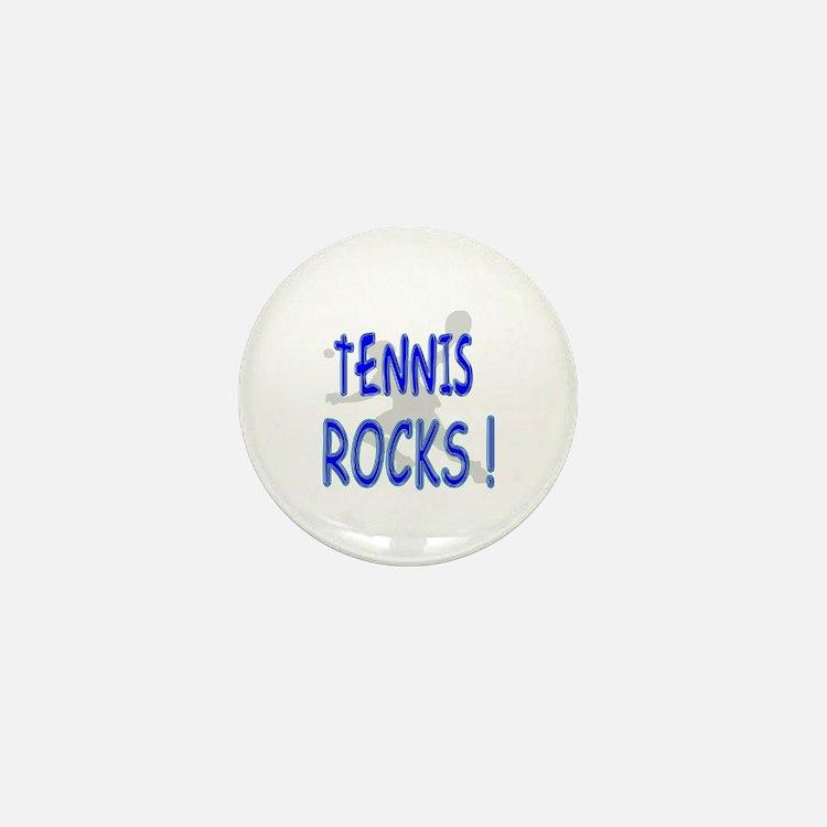 Tennis Rocks ! Mini Button