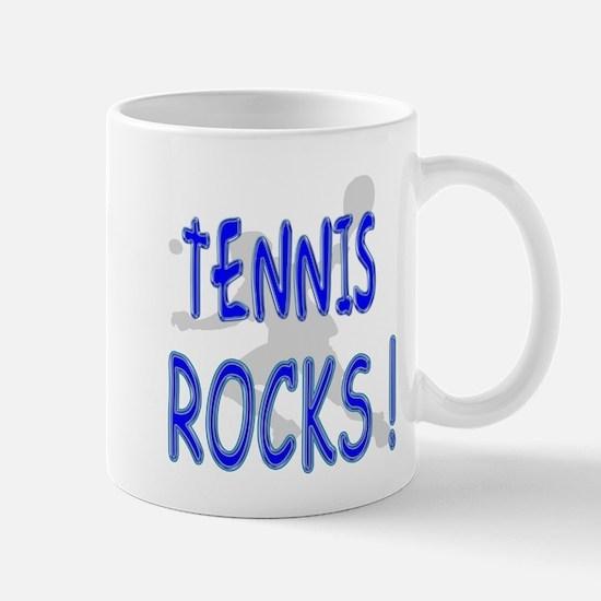 Tennis Rocks ! Mug