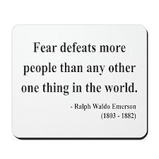Ralph Waldo Emerson 23 Mousepad
