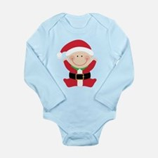 Christmas Santa Claus Baby Body Suit