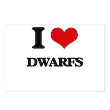 I love Dwarfs Postcards (Package of 8)