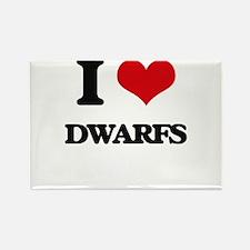 I love Dwarfs Magnets
