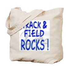 Track & Field Rocks ! Tote Bag