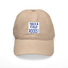 Track & Field Rocks ! Baseball Cap
