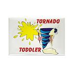 Toddler Tornado Rectangle Magnet