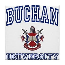 BUCHAN University Tile Coaster