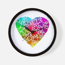 Cute Unique valentine%27s day Wall Clock