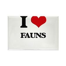 I love Fauns Magnets
