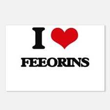 I love Feeorins Postcards (Package of 8)