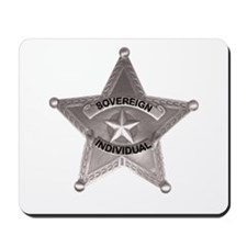 Sovereign Individual Badge on Mousepad