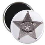 Sovereign Individual Badge on Magnet