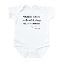 Ralph Waldo Emerson 26 Infant Bodysuit