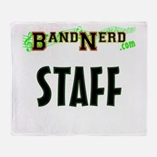 Bandnerd.com Staff Throw Blanket