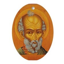 Icon Painting 6 Ornamant (Oval)