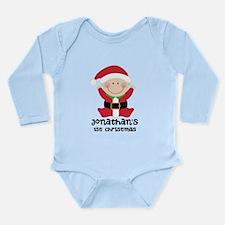 Santa Claus 1st Christmas Personalized Body Suit