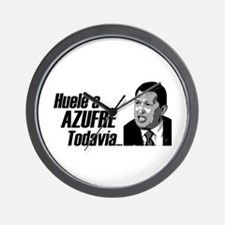 Huele a Azufre Todavia Wall Clock