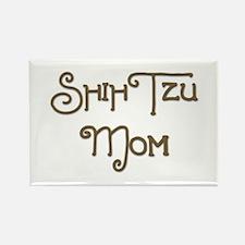 Shih Tzu Mom 1 Rectangle Magnet