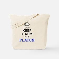Funny Platon Tote Bag
