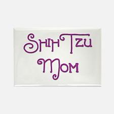 Shih Tzu Mom 6 Rectangle Magnet