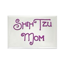 Shih Tzu Mom 6 Rectangle Magnet (10 pack)