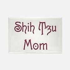 Shih Tzu Mom 8 Rectangle Magnet