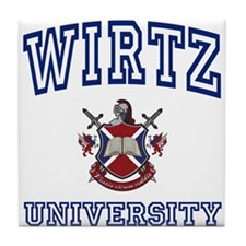 WIRTZ University Tile Coaster