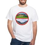 Peace in Switzerland White T-Shirt