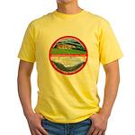 Peace in Switzerland Yellow T-Shirt