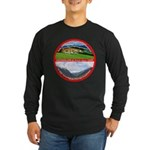 Peace in Switzerland Long Sleeve Dark T-Shirt