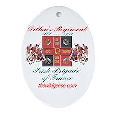 Dillon's Regiment Oval Ornament