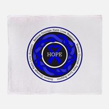 TBI Hope Throw Blanket
