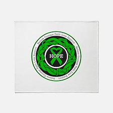 TBI Hope Throw Blanket