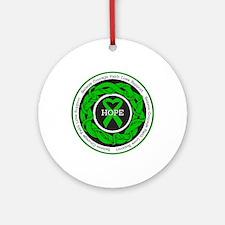 TBI Hope Ornament (Round)