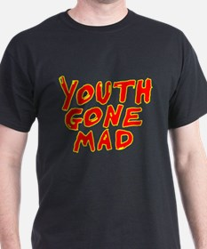 Youth Gone Mad red with yellow T-Shirt