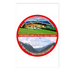Peace in Switzerland Postcards (Package of 8)