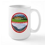 Peace in Switzerland Large Mug