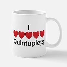 I Love Quintuplets Mug