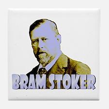 Bram Stoker Tile Coaster