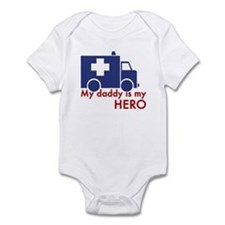 My Daddy Is My Hero (paramedic) Infant Bodysuit
