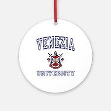 VENEZIA University Ornament (Round)