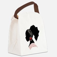 A QUEN BEAUTIFUL STRUGGLE Canvas Lunch Bag