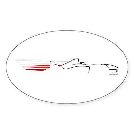 Formula 1 Poland Oval Sticker