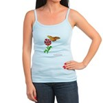 Butterfly and Flower Jr. Spaghetti Tank
