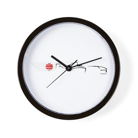 Formula 1 Japan Wall Clock