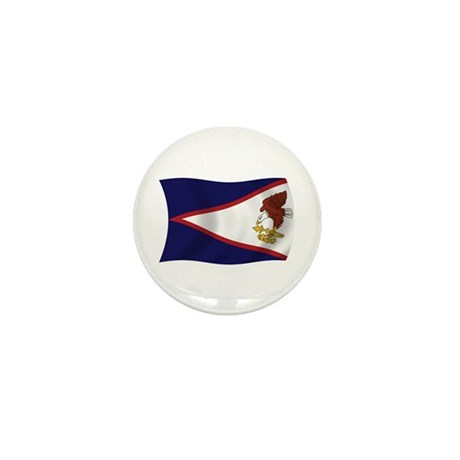 American Samoa Flag Mini Button (100 pack)