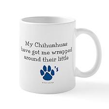 Wrapped Around Their Paws (Chihuahua) Mug